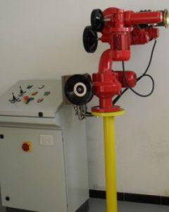 Działko wodno-pianowe sterowane elektrycznie MM/E-80